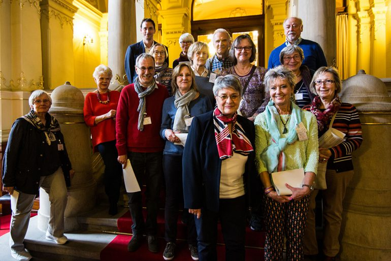 Besuch einer  BürgerInnengruppe am 29.3.2017