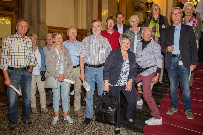 Besuch aus dem Wahlkreis im Rathaus