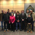 Volksentscheid wird weiter umgesetzt – Gasnetz wieder städtisch Besuch beim Betriebsrat von Gasnetz Hamburg