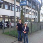 Zu Besuch im Polizeikommissariat 23 in Lokstedt