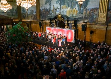 Neujahrsempfang der SPD-Bürgerschaftsfraktion im Rathaus